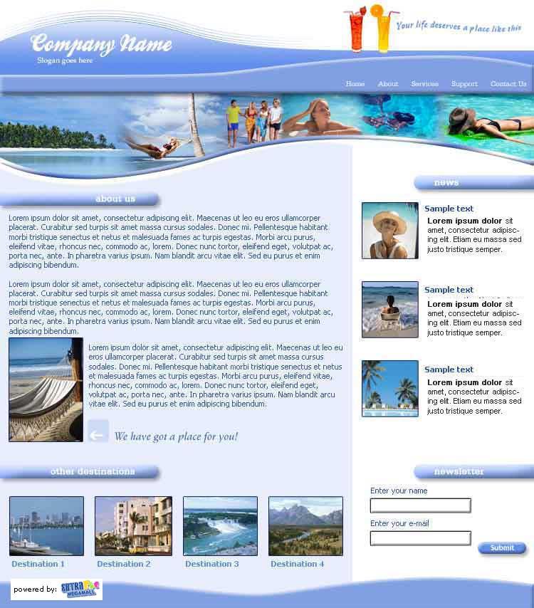 Примеры дизайнов сайтов